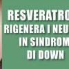 Il Resveratrolo rigenera i neuroni in sindrome di Down