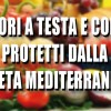 Dieta mediterranea protegge da tumori a testa e collo