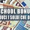 School Bonus: deducibili le erogazioni liberali alle scuole