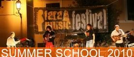 Fara Music Festival e Fara Music Summer School 2010