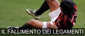 Traumatologia del calcio: il fallimento dei legamenti