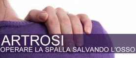 Operare l' artrosi della spalla salvando l'osso