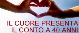 Aterosclerosi – Il cuore presenta il conto a 40 anni