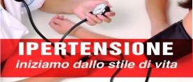 Ipertensione: iniziamo dallo stile di vita
