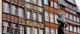 Rennes, capitale di Bretagna