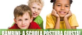 Bambini: a scuola postura giusta