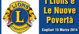 I Lions e le nuove povertà