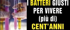 CNR: i batteri giusti per vivere 100 anni