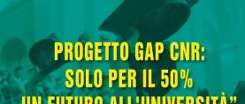 Progetto GAP CNR: solo per il 50% un futuro all'università