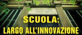Scuola: largo all'innovazione