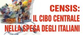 Censis: cibo centrale nella spesa degli italiani