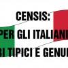 Censis: per gli italiani cibi tipici e genuini