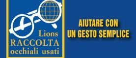 Raccolta Occhiali Usati Lions: aiutare con un gesto semplice