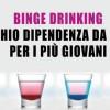 Dopo il Binge Drinking la dipendenza da alcol