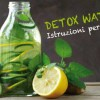 No Water? Arriva l'Acqua Detox