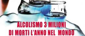 Alcolismo: 3 milioni di morti l'anno nel mondo