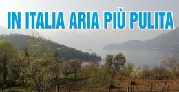 In Italia negli ultimi 40 anni l'aria è più pulita