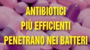 """Antibiotici più efficienti: ecco come """"entrare"""" nei batteri"""