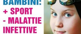 Bambini: più sport meno malattie infettive
