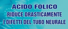 Acido Folico: riduce drasticamente i Difetti del Tubo Neurale