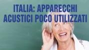 Italia: apparecchi acustici poco utilizzati