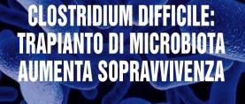 Clostridium Difficile: trapianto di microbiota aumenta la sopravvivenza