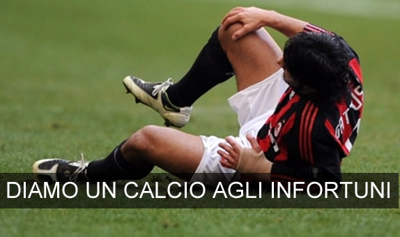 "Diamo un ""calcio"" agli infortuni"