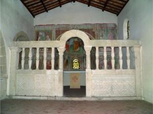 chiesa san leone capena icnostasi