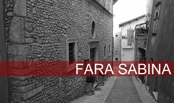 Fara Sabina: visita e storia
