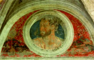 palombara sabina castello savelli salone uomini romani