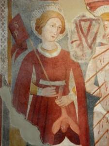 chiesa san paolo poggio mirteto affreschi