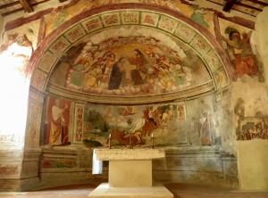 chiesa san paolo poggio mirteto abside