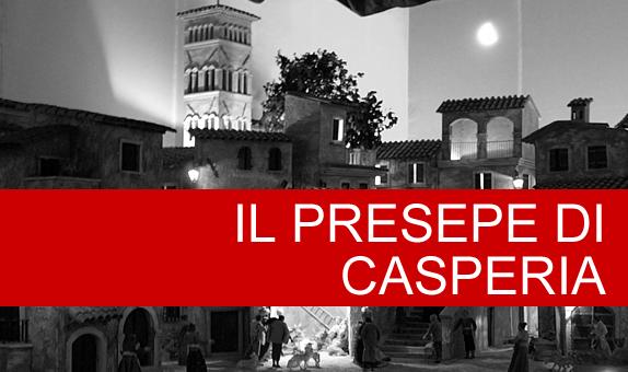 Il Presepe di Casperia ospitato nella chiesa parrocchiale di San Giovanni Battista