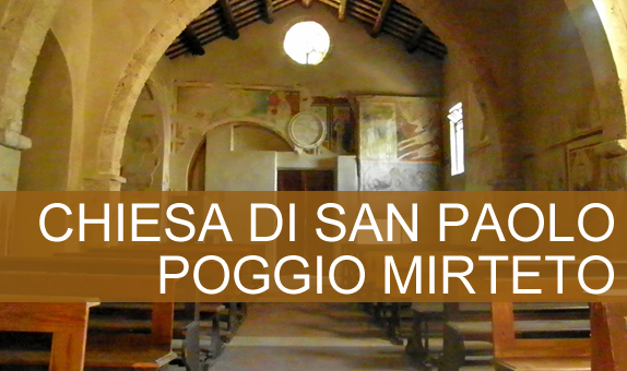 Chiesa di San Paolo a Poggio Mirteto