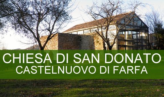 La Chiesa di San Donato a Castelnuovo di Farfa (RI)