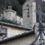 Chiostro del Santuario del Sacro Speco di San Francesco nei pressi di Narni