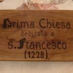 Santuario Francescano Greccio, Chiesa di San Bonaventura