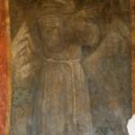 Santuario Francescano Greccio, Chiesa di San Bonaventura - Affresco del Beato Giovanni da Parma
