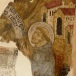 Santuario Francescano Greccio, Chiesa di San Bonaventura - San Francesco a Poggio Bustone riceve la Remissione dei peccati (sec. XV)