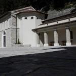 Santuario Francescano Greccio, la chiesa nuova realizzata nel 1959 su progetto dell'Architetto Carlo Alberto Carpiceci