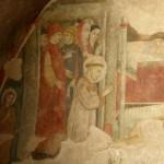 Santuario Francescano Greccio, particolare della Cappella del Presepio