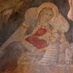 Santuario Francescano di Greccio, Natività (particolare) attribuita alla Scuola del Maestro di Fossa (sec. XIV)