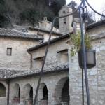 Chiostro Santuario del Sacro Speco di San Francesco nei pressi di Narni
