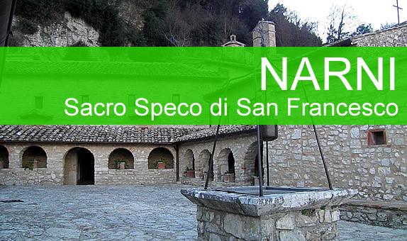Il Santuario del Sacro Speco di San Francesco di Narni