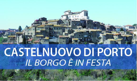 Castelnuovo di Porto: 'Il Borgo è in Festa' – Fiori Saperi e Sapori! – 12 Maggio 2013