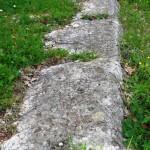Basolato della Salaria antica presso la Madonna delle Quercie - Ponticelli