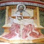 Dio in trono con Cristo Crocefisso - Chiesa di San Silvestro in Castello - Castelnuovo di Porto