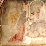 Vergine con Bambino, Santa Caterina e San Martino - Chiesa di San Silvestro in Castello - Castelnuovo di Porto