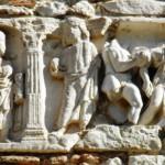 Abbazia di Farfa - Bassorilievo Romano