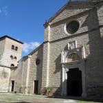 Abbazia di Farfa - Ingresso della Basilica